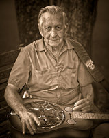 Wayne Heard of Henagar learned to play the